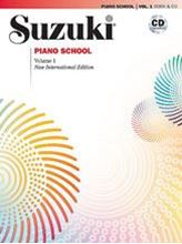Picture of Suzuki Piano School Volume 1 Book/CD