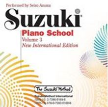 Picture of Suzuki Piano School Volume 3 CD