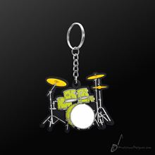 Picture of Key Chain Drum Set Green