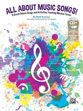 Picture of All About Music Songs Bk/CD