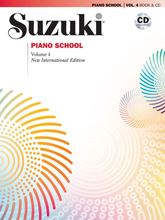 Picture of Suzuki Piano School Volume 4 Book/CD
