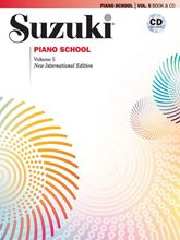 Picture of Suzuki Piano School Volume 5 Book/CD