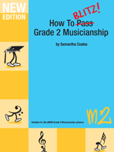 Picture of How to Blitz Musicianship Grade 2