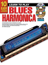 Picture of 10 Easy Lessons Learn To Play Blues Harmonica Bk/CD/DVD