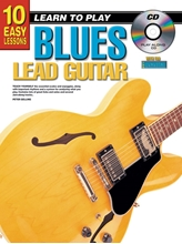 Picture of 10 Easy Lessons Learn To Play Blues Lead Guitar Bk/CD