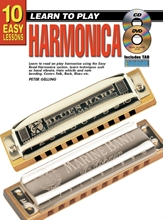 Picture of 10 Easy Lessons Learn To Play Harmonica Bk/CD/DVD/Chart