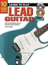 Picture of 10 Easy Lessons Learn To Play Lead Guitar Bk/CD/DVD/Chart