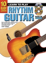 Picture of 10 Easy Lessons Learn To Play Rhythm Guitar Bk/CD/DVD/Chart
