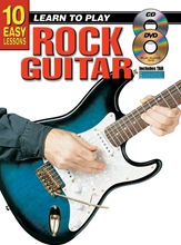 Picture of 10 Easy Lessons Learn To Play Rock Guitar Bk/CD/DVD
