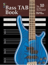 Picture of Manuscript Book 10 - Bass TAB 48 Pages
