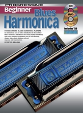 Picture of Progressive Beginner Blues Harmonica Bk/CD/DVD