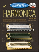 Picture of Progressive Complete Learn to Play Harmonica Manual Bk/2CD