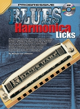 Picture of Progressive Blues Harmonica Licks Bk/CD