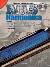 Picture of Progressive Blues Harmonica Bk/CD