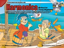 Picture of Progressive Harmonica Method For Young Beginners Bk/CD