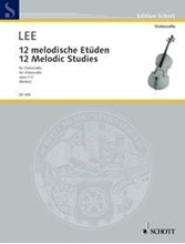 Picture of 12 Melodic Studies Op 113 Cello