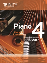 Picture of Trinity Piano Exam Pieces & Exercises 2015-17 Grade 4