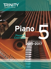 Picture of Trinity Piano Exam Pieces & Exercises 2015-17 Grade 5