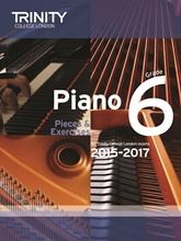 Picture of Trinity Piano Exam Pieces & Exercises 2015-17 Grade 6