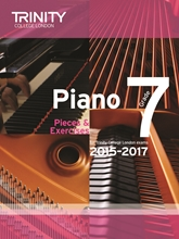 Picture of Trinity Piano Exam Pieces & Exercises 2015-17 Grade 7