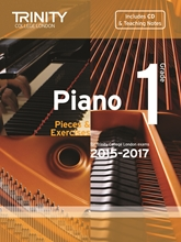 Picture of Trinity Piano Exam Pieces & Exercises 2015-17 Grade 1 Bk/Cd