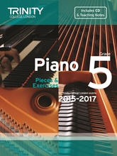 Picture of Trinity Piano Exam Pieces & Exercises 2015-17 Grade 5 Bk/Cd