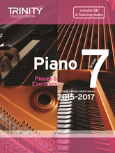 Picture of Trinity Piano Exam Pieces & Exercises 2015-17 Grade 7 Bk/Cd