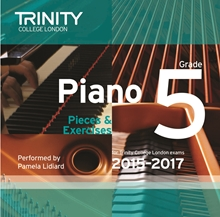 Picture of Trinity Piano Exam Pieces & Exercises 2015-17 Grade 5 CD