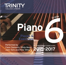 Picture of Trinity Piano Exam Pieces & Exercises 2015-17 Grade 6 CD