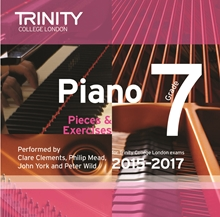 Picture of Trinity Piano Exam Pieces & Exercises 2015-17 Grade 7 CD