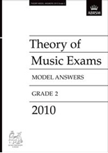 Picture of ABRSM Music Theory Model Answers 2010 Grade 2
