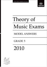 Picture of ABRSM Music Theory Model Answers 2010 Grade 5