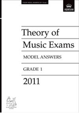Picture of ABRSM Music Theory Model Answers 2011 Grade 1
