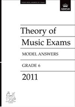 Picture of ABRSM Music Theory Model Answers 2011 Grade 6