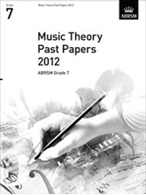 Picture of ABRSM Music Theory Papers 2012 Grade 7