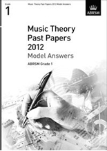 Picture of ABRSM Music Theory Model Answers 2012 Grade 1