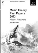 Picture of ABRSM Music Theory Model Answers 2013 Grade 1