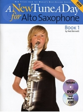 Picture of A New Tune a Day Alto Sax Book 1 Book/CD/DVD
