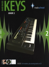 Picture of Rockschool Band Based Keys Grade 2 Bk/Cd