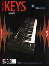 Picture of Rockschool Band Based Keys Grade 5 Bk/Cd