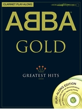 Picture of ABBA Gold Clarinet Playalong Bk/CD