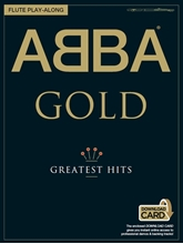 Picture of ABBA Gold Flute Playalong Book/OA