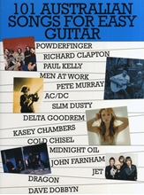 Picture of 101 Australian Songs for Easy Guitar Volume 1