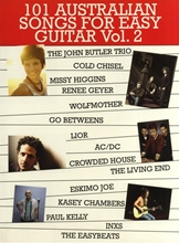 Picture of 101 Australian Songs for Easy Guitar Volume 2