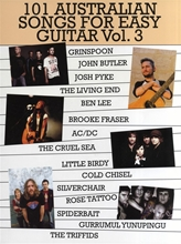 Picture of 101 Australian Songs for Easy Guitar Volume 3