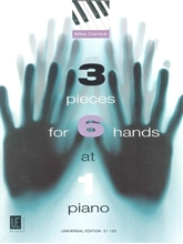Picture of 3 Pieces for 6 Hands at 1 Piano