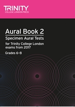 Picture of Trinity Aural Tests Book 2 from 2017 Grades 6-8