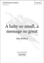 Picture of A Baby So Small a Message So Great  SATB