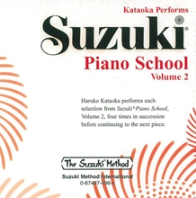 Picture of Suzuki Piano School Volume 2 CD