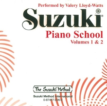 Picture of Suzuki Piano School Volume 1 & 2 CD